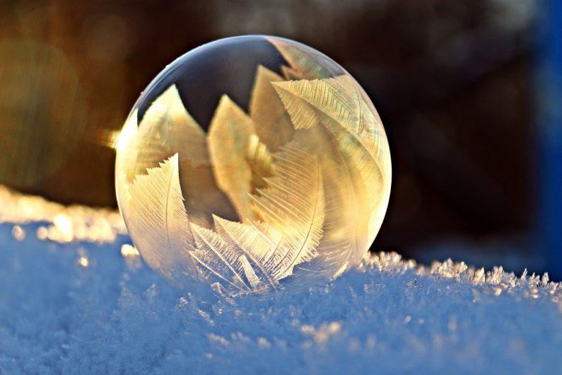 Boule dans neige