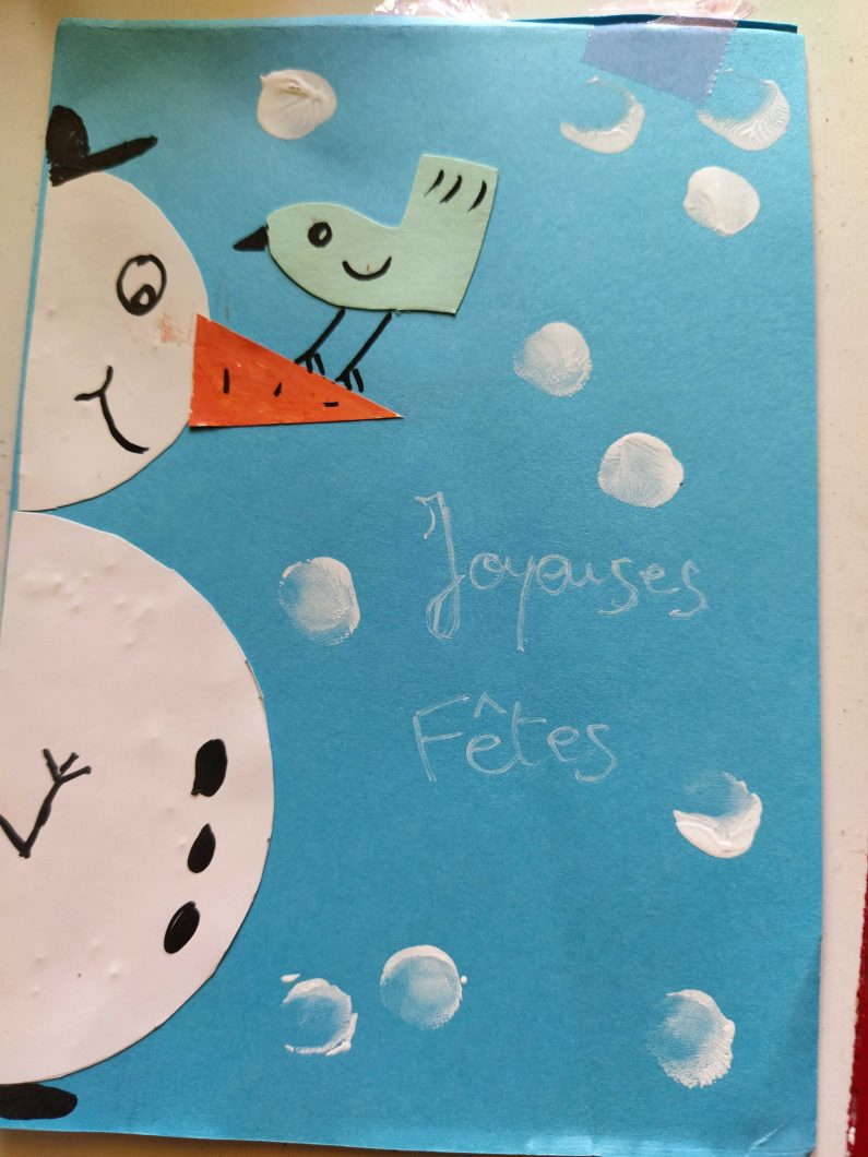 diy-cartes-noel-bonhomme de neige