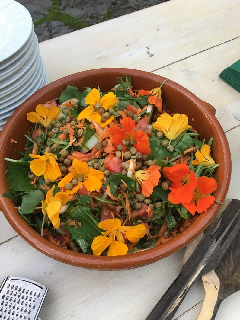 salade fleurale