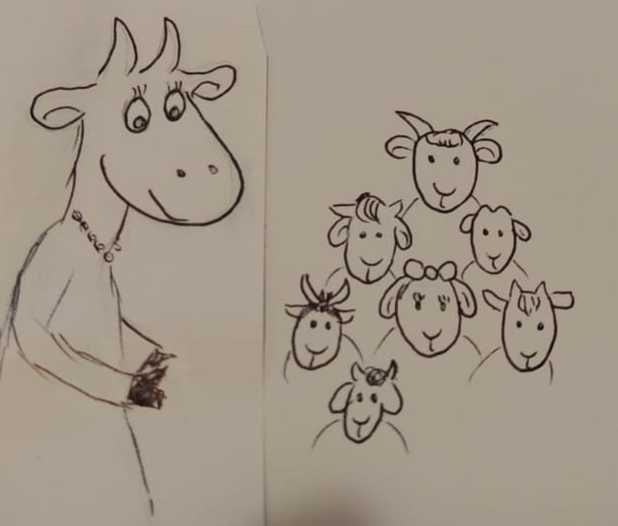 La chèvre et les 7 chevreaux