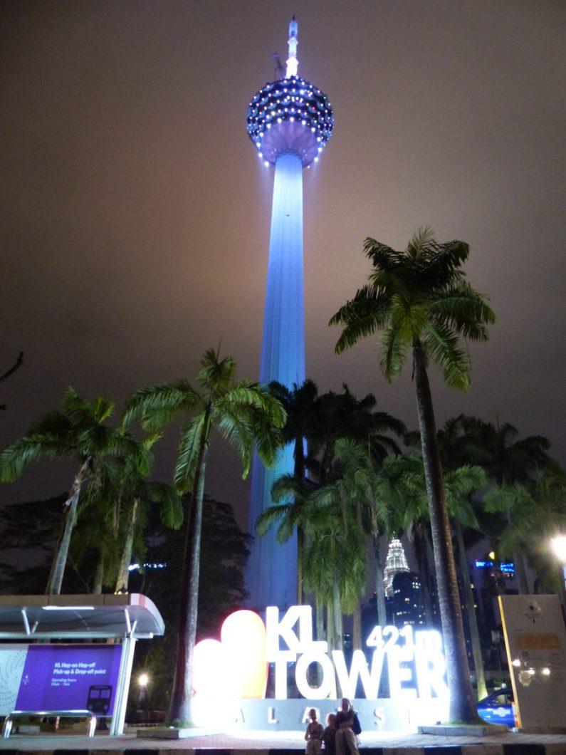 La tour KLC de Kuala Lumpur