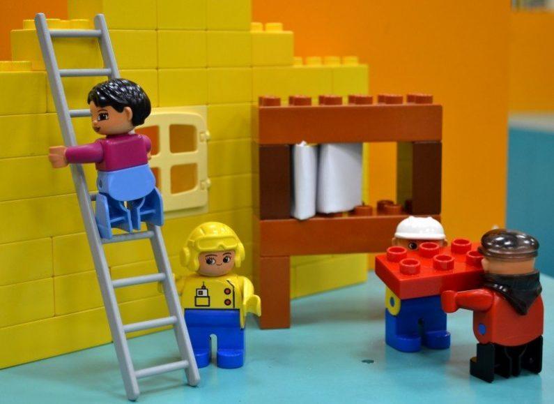 Construction de Legoland
