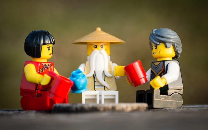 Devenir Ninja grâce à Ninjago Lego