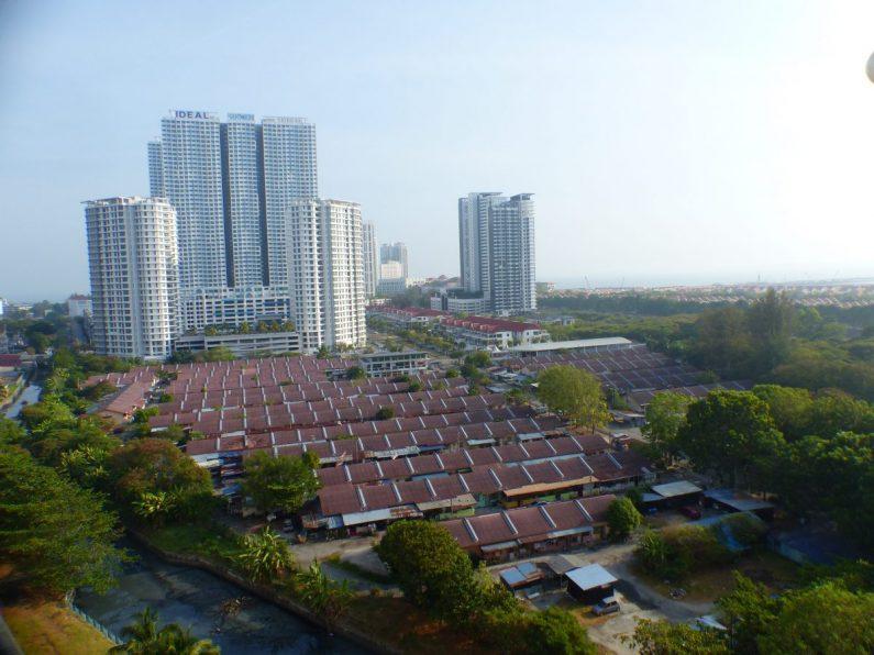 Différentes architectures se cotoient en Malaisie
