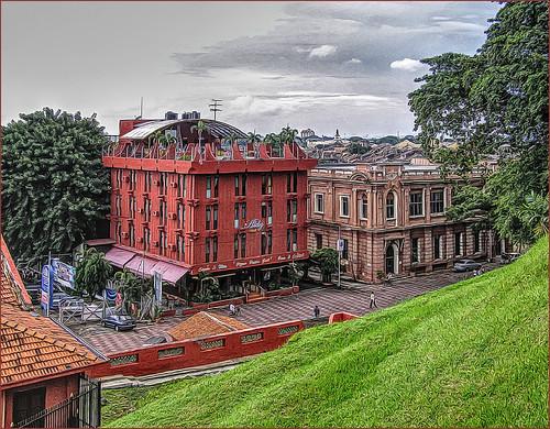 la ville coloniale de Malacca