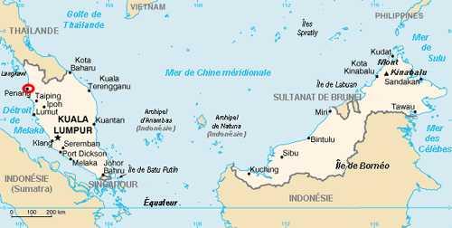 carte Penang