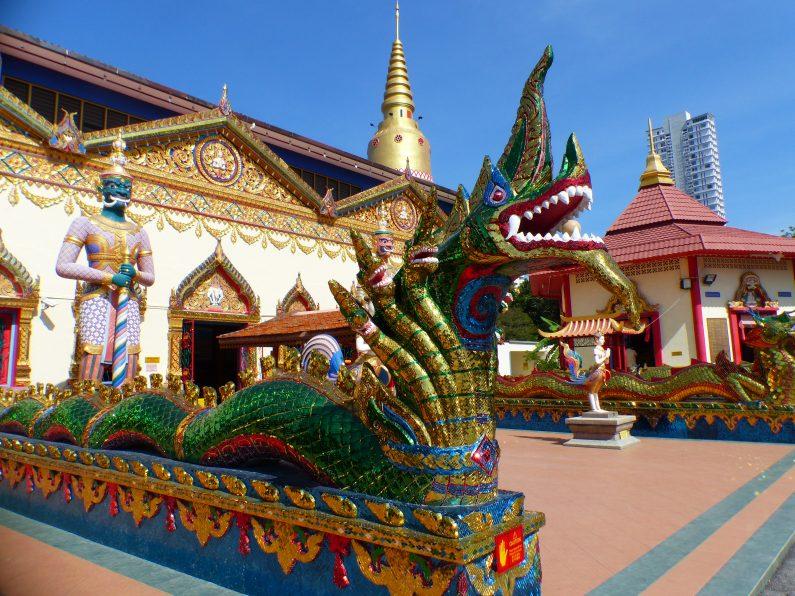 dragon gardien du temple