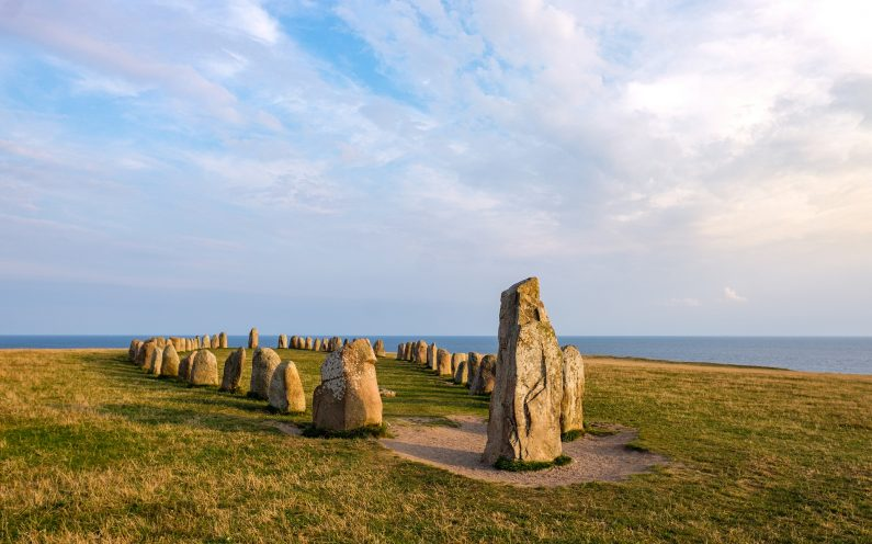 calendrier ancestral : aligenement de pierres