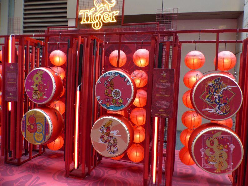 décorations de tambours