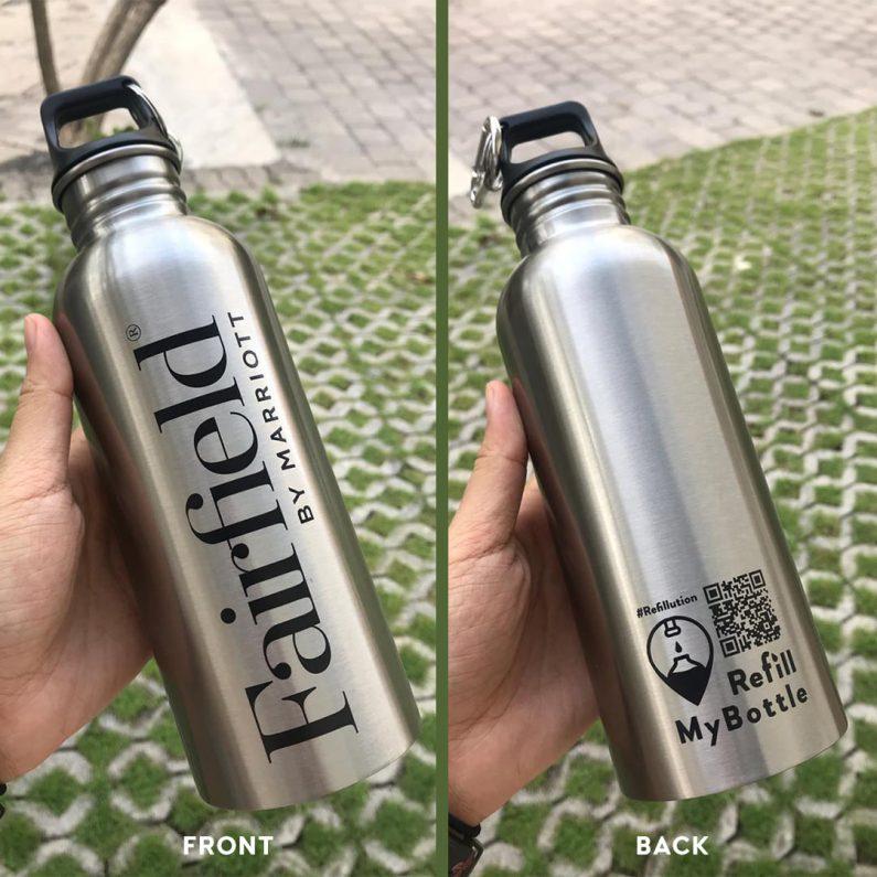 Refill my bottle : bouteille officielle