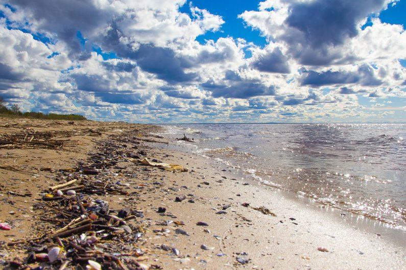 Refill my bottle : déchets à la plage