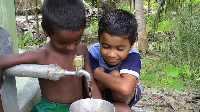 L'accès inégal à l'eau