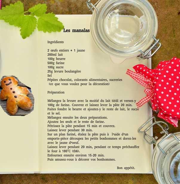 recette manalas